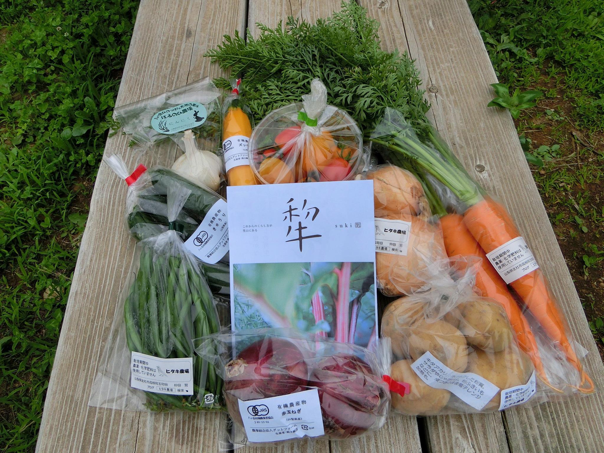 ふるさと応援団 野菜ボックスの発送をおこないました