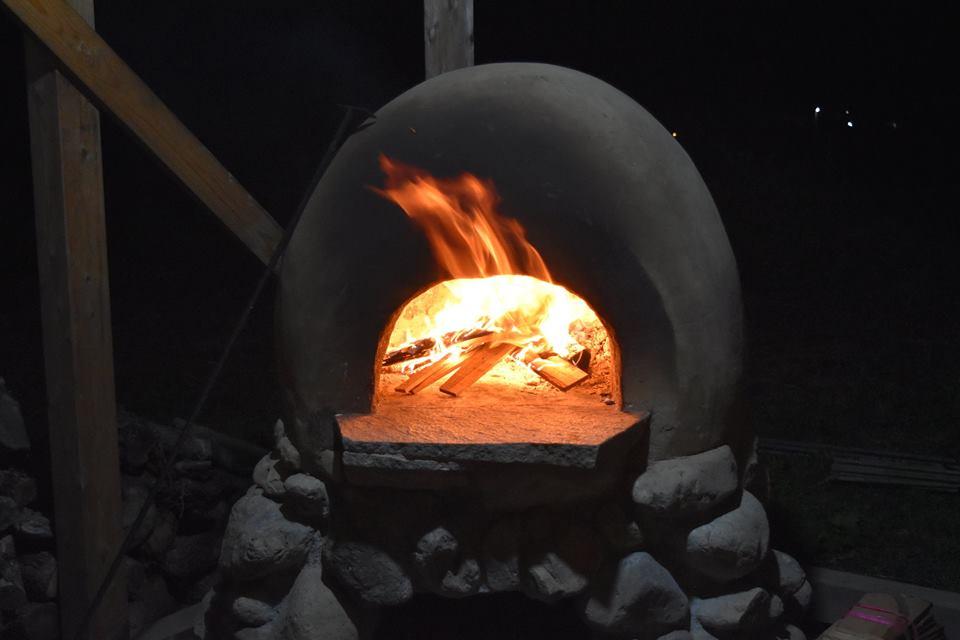 アースオーブン火入れ式